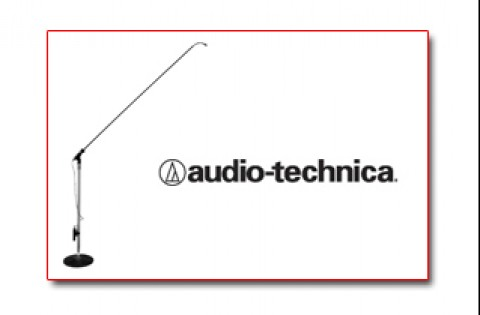 """Ace Backstage CSM-60CW Wireless Choir Stick Microphone, 60"""" with Audio Technica Cardioid Element"""