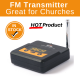 Broadcast Vision AXS FMTD FM Tuneable Transmitter