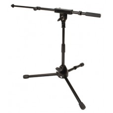 Jamstands JS-MCTB50 Low Profile Mic Stand w/ Telescoping Boom